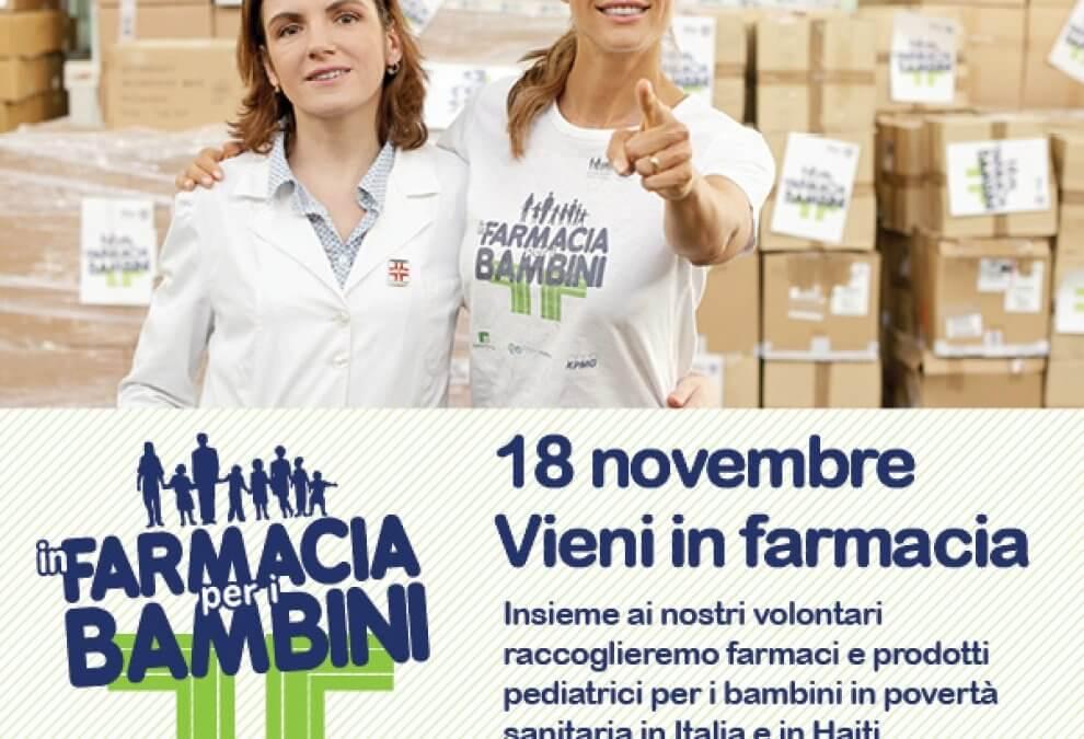 In Farmacia per i bambini – Fondazione Francesca Rava